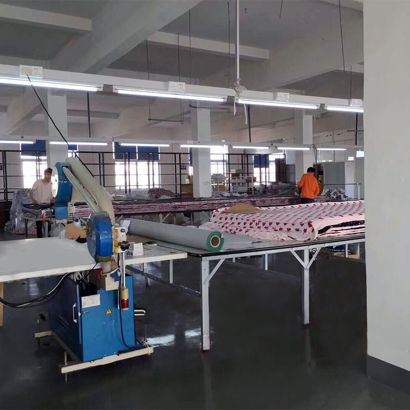Our Fabric Cutting Area
